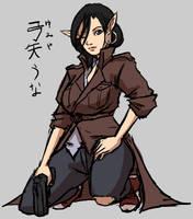 Shadowrun: Una Yumiya by samutoka