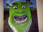 Shrek and his M and M's