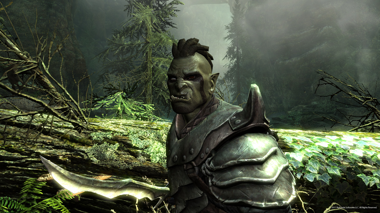 skyrim orc wallpaper - photo #13