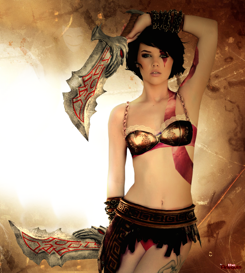 Mellisa Clarke is a Godess of War... by theArLeQuIn on ...