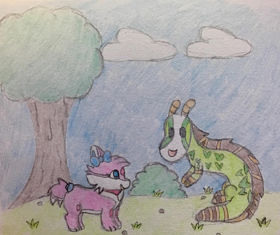 Step 3 - Friendship at last  by Anna7334
