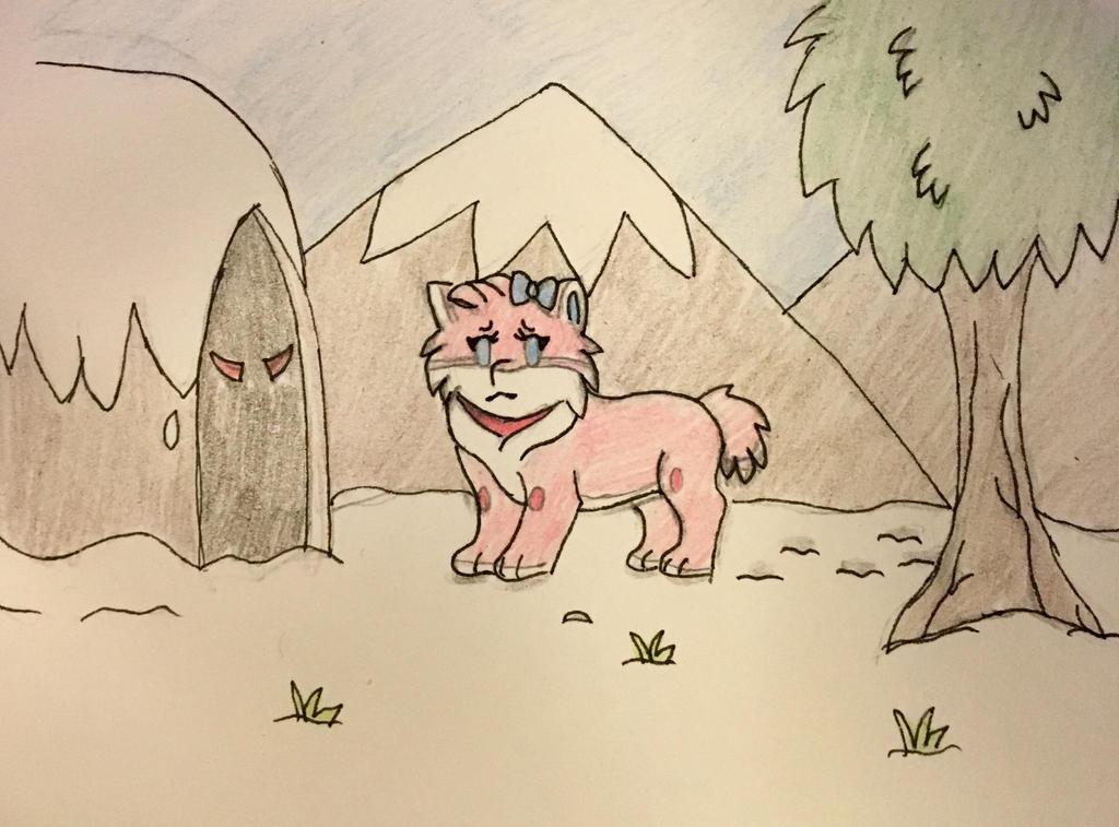 Fetch Friday: Snowy Den of Doom by Anna7334