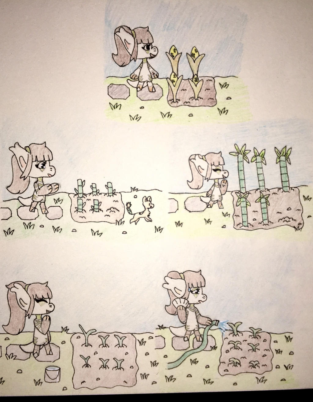 All farming steps 1 - 5  by Anna7334