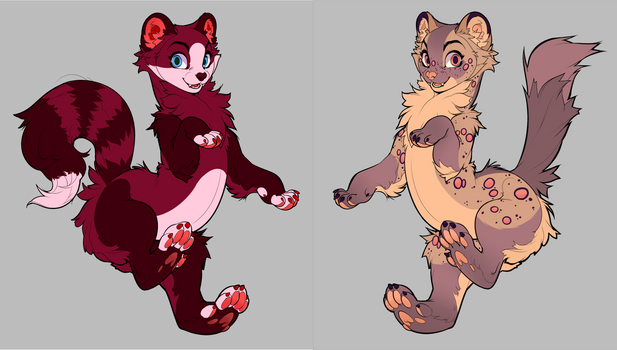 Mustelid Adopts 2/2 OPEN