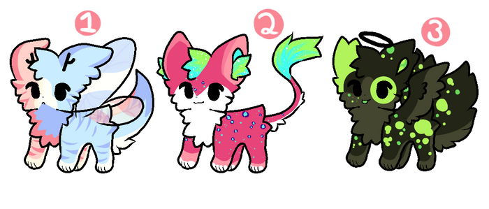 Character Adopts 3/3 OPEN