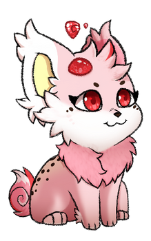 Strawberry My first kittom