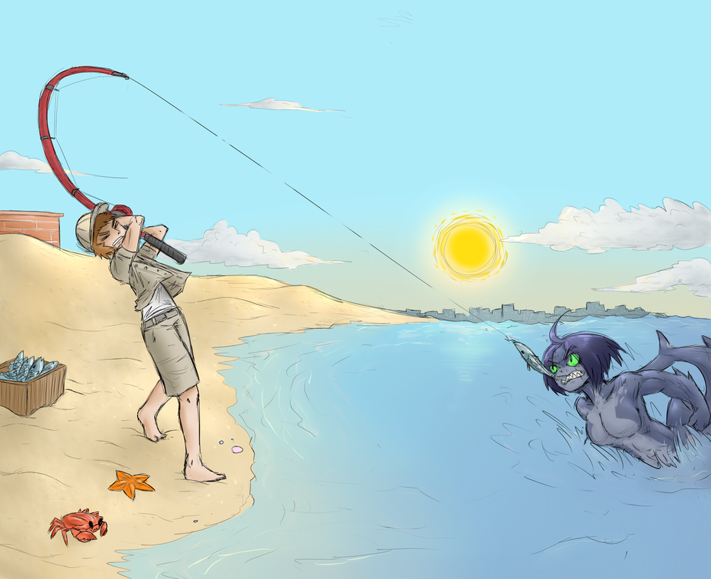 Fishing by FicusGregoriano