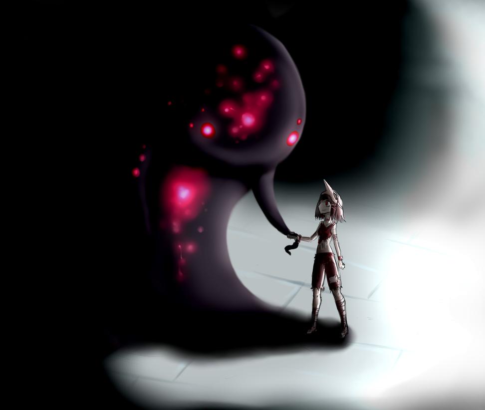 Hello darkness by FicusGregoriano