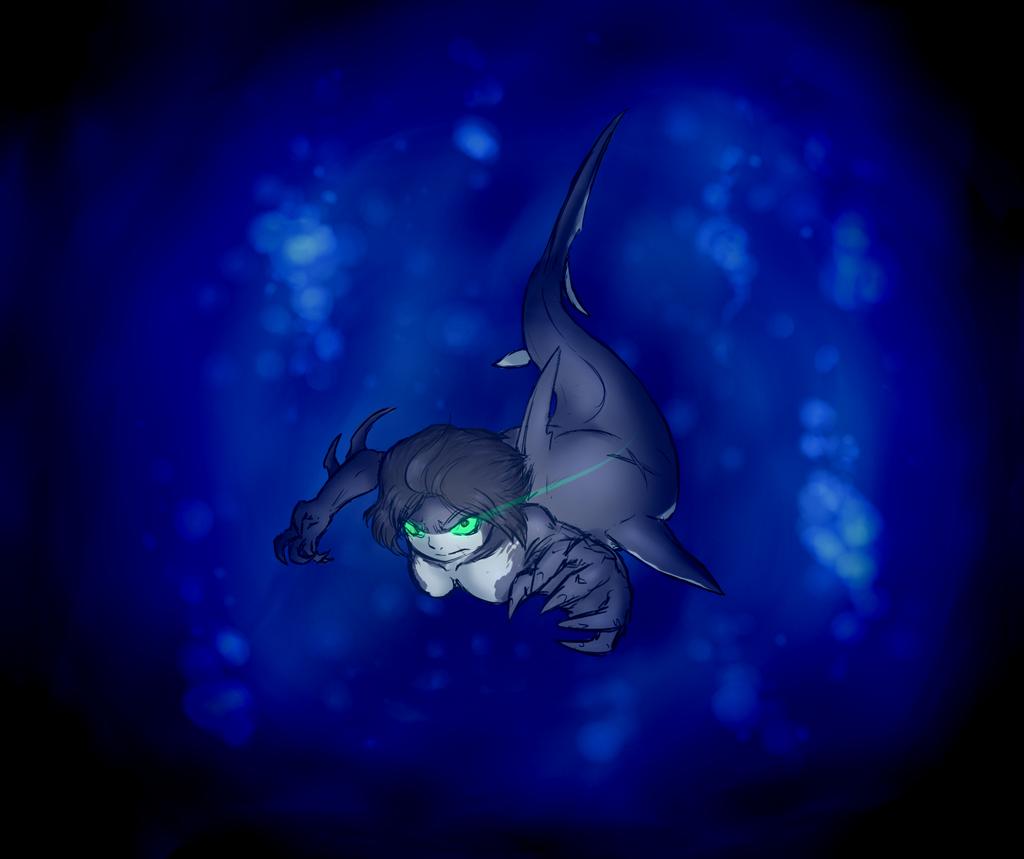 Shark attack by FicusGregoriano