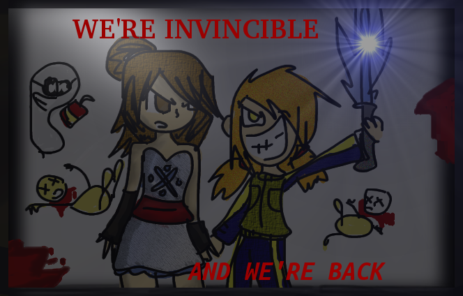 We're Back and Invincible! by Mystic-LightsCx