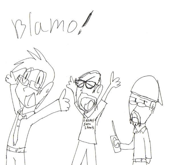 BLAMO by Jim-Nickabocker