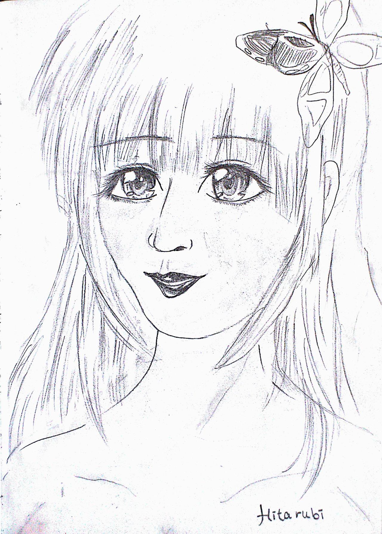 Anime Drawings - Anime Drawings By Irihime 3Chan Bgvd