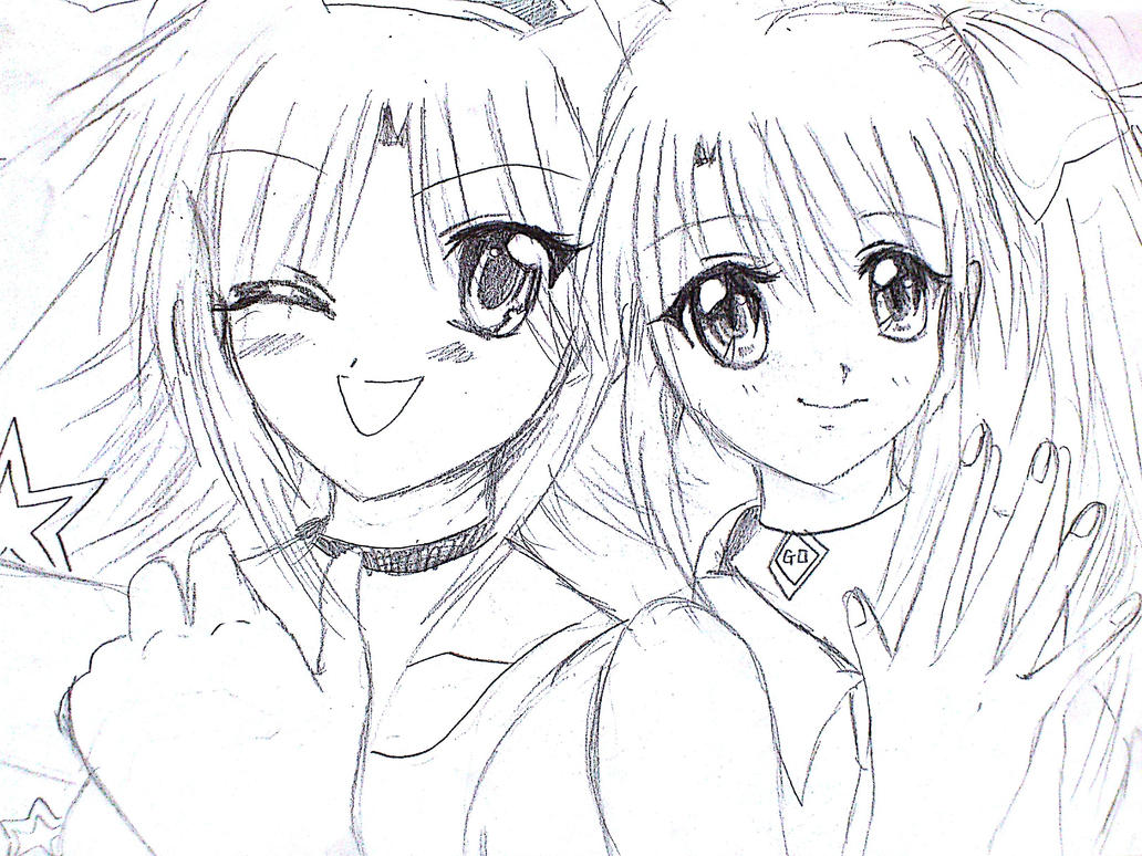 group anime friends coloring pages coloring pages
