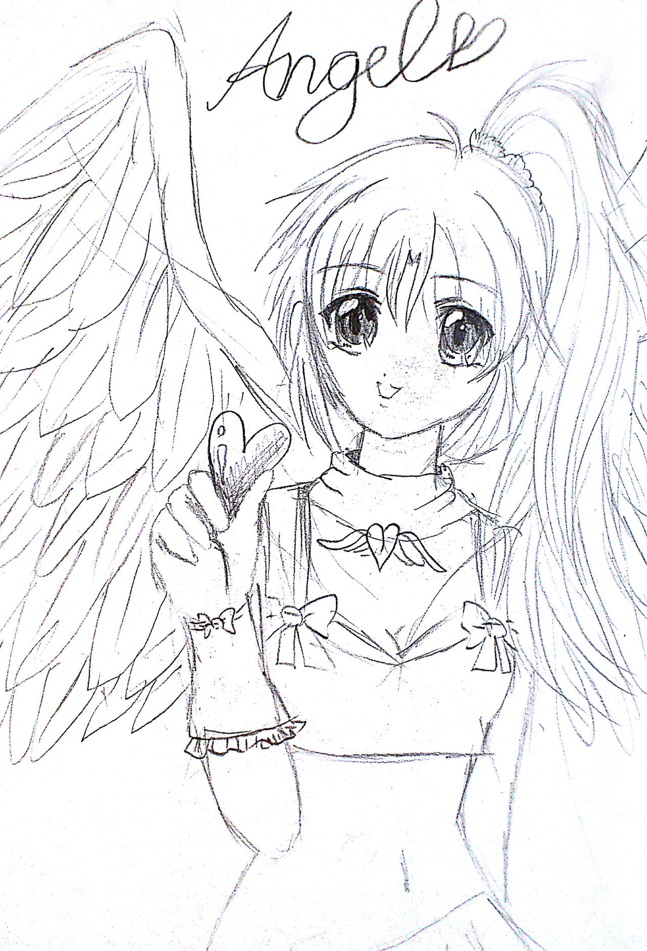 Anime Drawings - Anime Drawings By Irihime 3Chan A