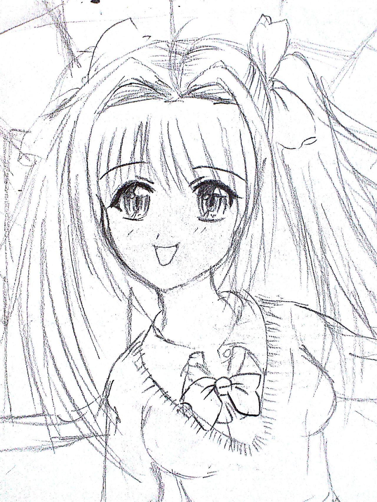 Anime Drawings - Anime Drawings By Irihime 3Chan Mu