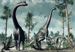 Brachiosaurus - TIME WARS
