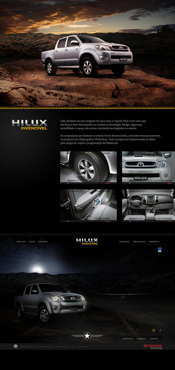 Toyota Hilux 2011 by aguvel
