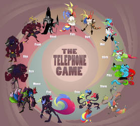Telephone Game [Collab] by StarFaky
