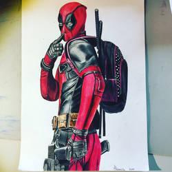Deadpool by nochancetolive