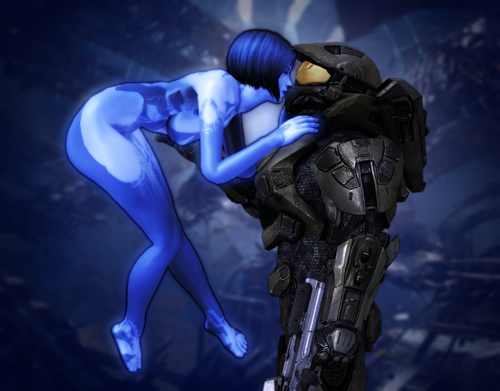 Cortana and master chief nude softcore download