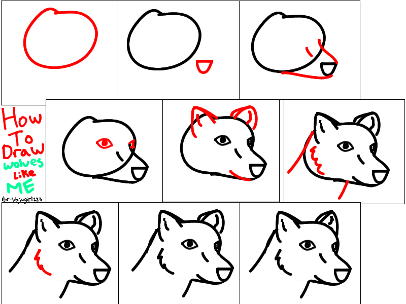 How To Draw Chibi Wolf Jacob Step By Step Chibis Draw: Step-by-Step To Draw A Chibi Wolf By NomWolf On DeviantArt