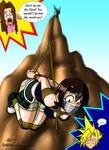 Yuffie On the Rocks