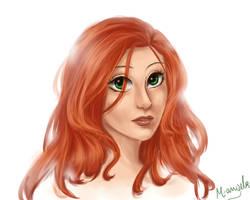 Redhead by m-angela