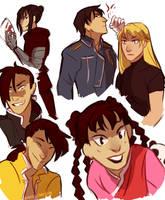 FMA characters part II by m-angela