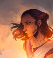 Rey doodle by m-angela