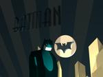 3D Art Deco Batman Robot 2