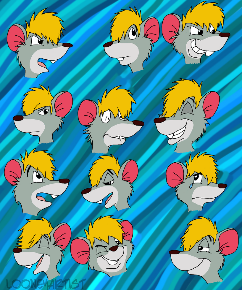 Eli Petry Expressions by LooneyArtist