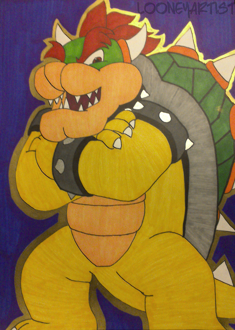 Gift: Bowser by LooneyArtist