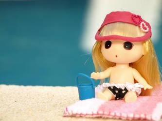 Pool time with Manuelita by BicefalusBoy