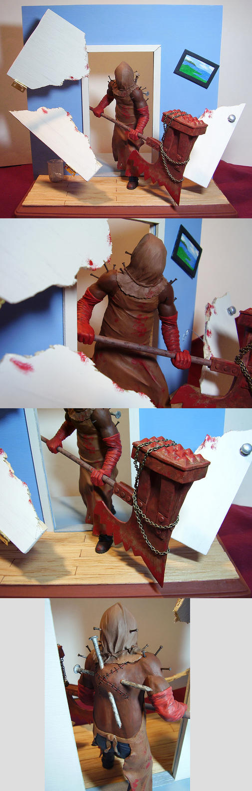 The Executioner Sculpture by ebonyraven