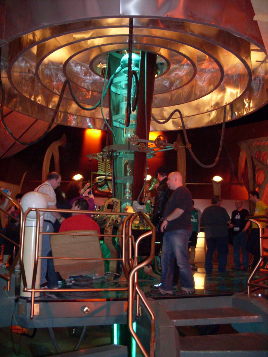 Inside The Real Tardis Set Upper Boat Uk By Unclegargy