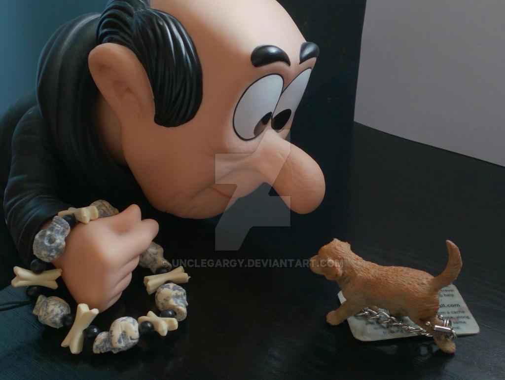 Smurfhound by UncleGargy