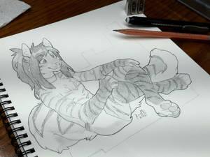 Pencil Sketch for Talexis [FA]