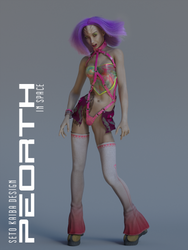 Raver in space by SetoKaibaDesign