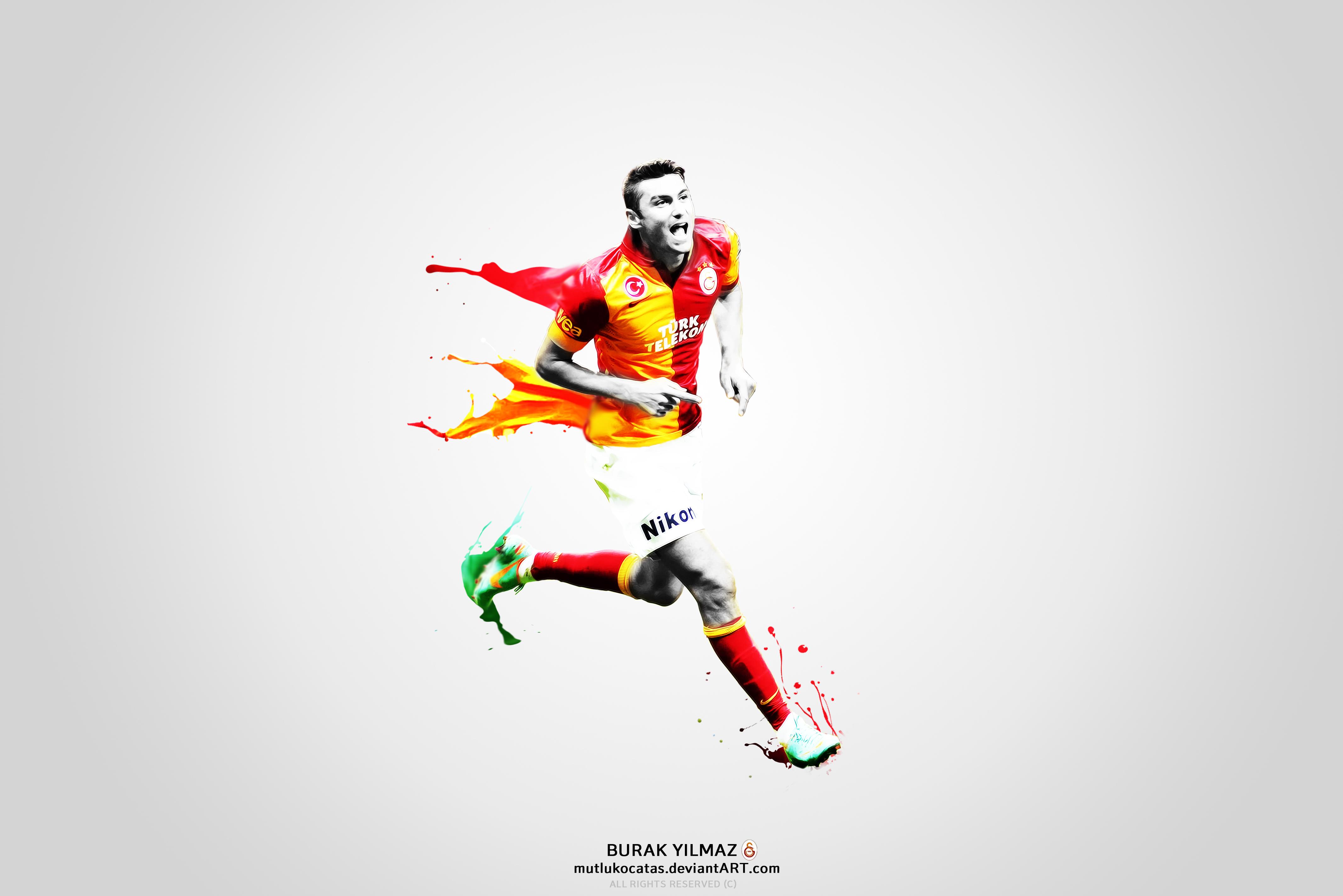 burak yilmaz   the king by mutlukocatas d5gfml6 2013 En Güzel Galatasaray HD Masaüstü Resimleri