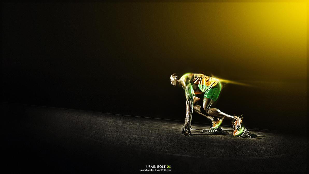 Usain Bolt - Jamaican Sprinter by mutlukocatas