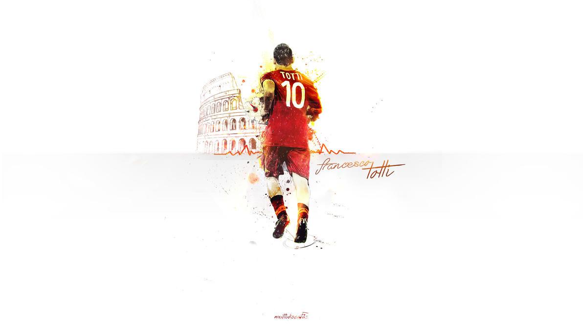 Francesco Totti by mutlukocatas