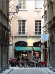 Vie dans le vieux Lyon by Axo69