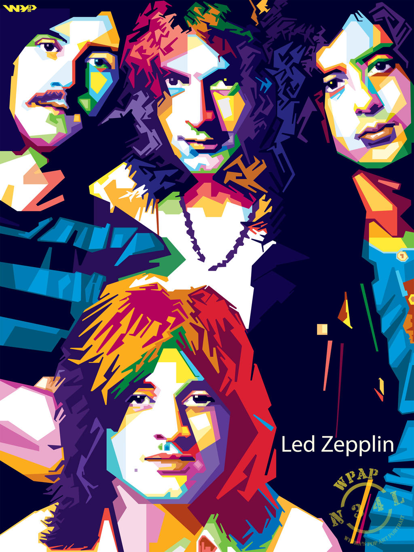 Led Zepplin In Wpap By Nealwdart On Deviantart
