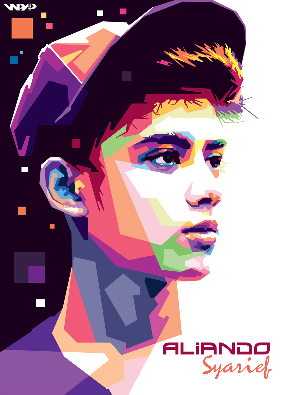 Aliando Syarief in wpap by NealWDart on DeviantArt