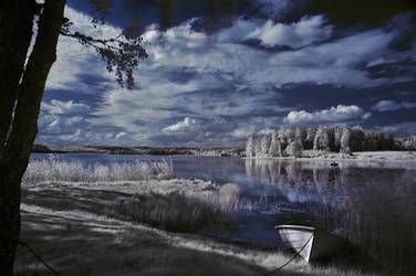 A calm place by Kjellsai