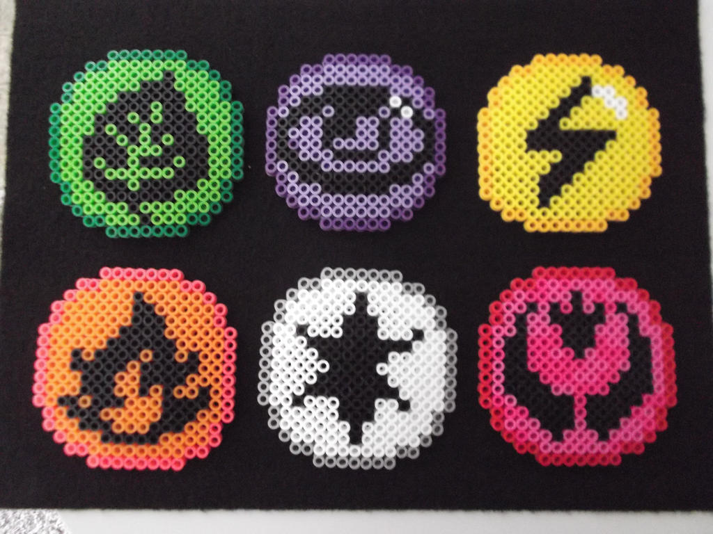 Pokemon Tcg Energies Part 1 In Perler Beads By Bobicus5 On