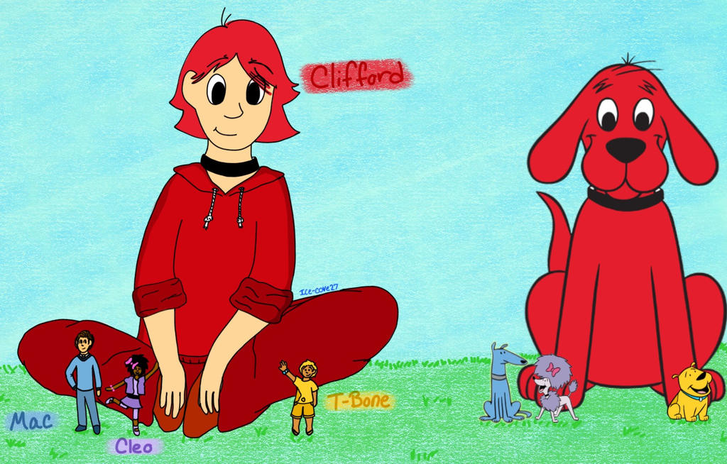 Clifford and Friends (Humanized) by Ice-Cove27 on DeviantArt