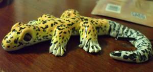 WIP Gecko Pendant