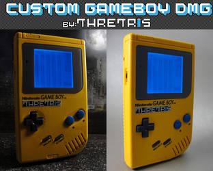 Custom Gameboy Yellow by Thretris