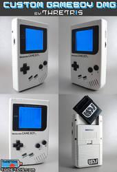 Custom Gameboy WHITE BOY by Thretris